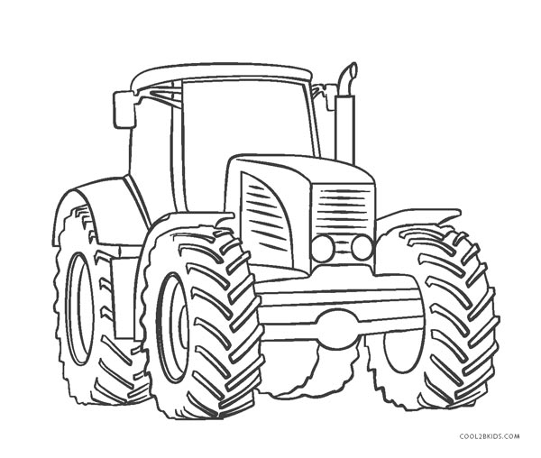 √ Tractor Coloring Pages and Tractor Coloring Pages New 22 ...