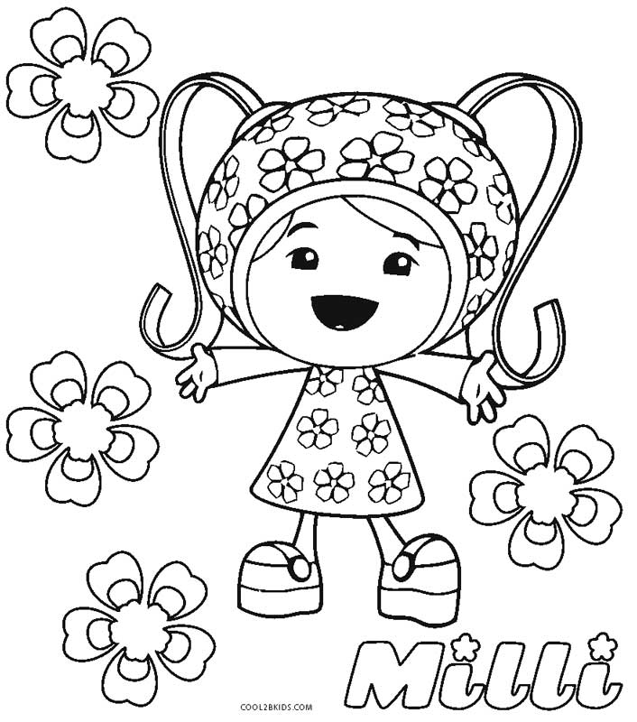 umizoomi coloring pages to print - photo#24