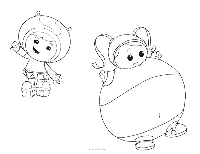 umizoomi coloring pages to print - photo#23