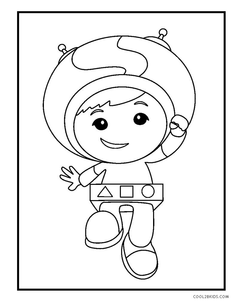 umizoomi coloring pages to print - photo#26