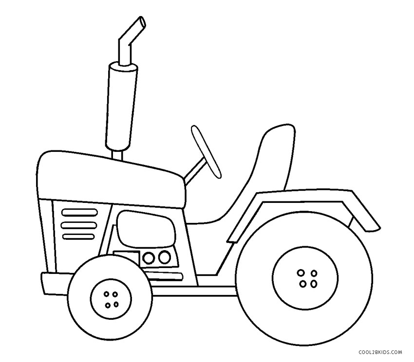 tractors coloring pages to print - photo#49