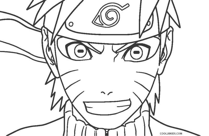 naruto print out coloring pages - photo#38
