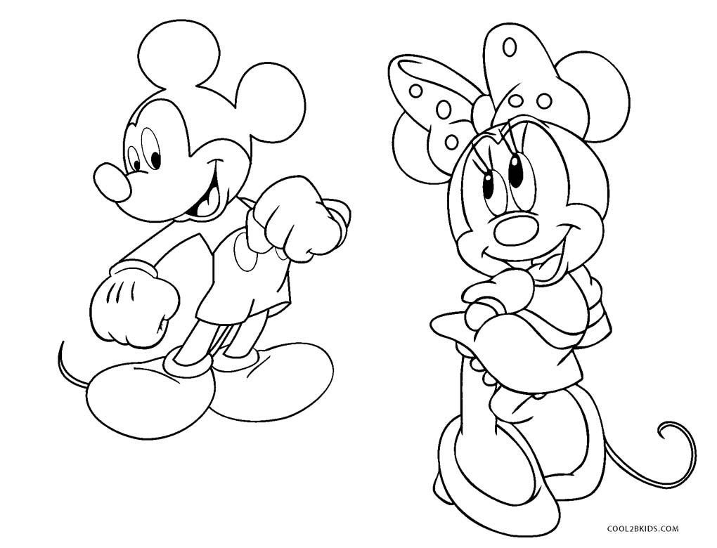 Free Printable Mickey Mouse Clubhouse Coloring Pages For Kids