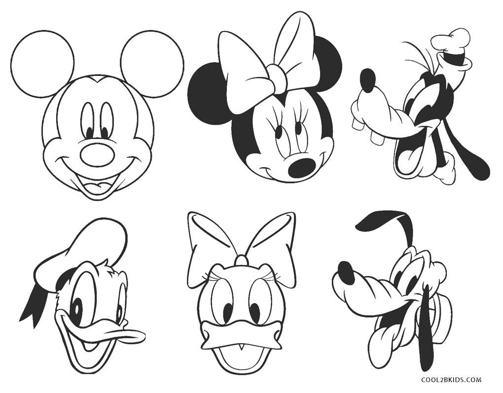 - Free Printable Mickey Mouse Clubhouse Coloring Pages For Kids