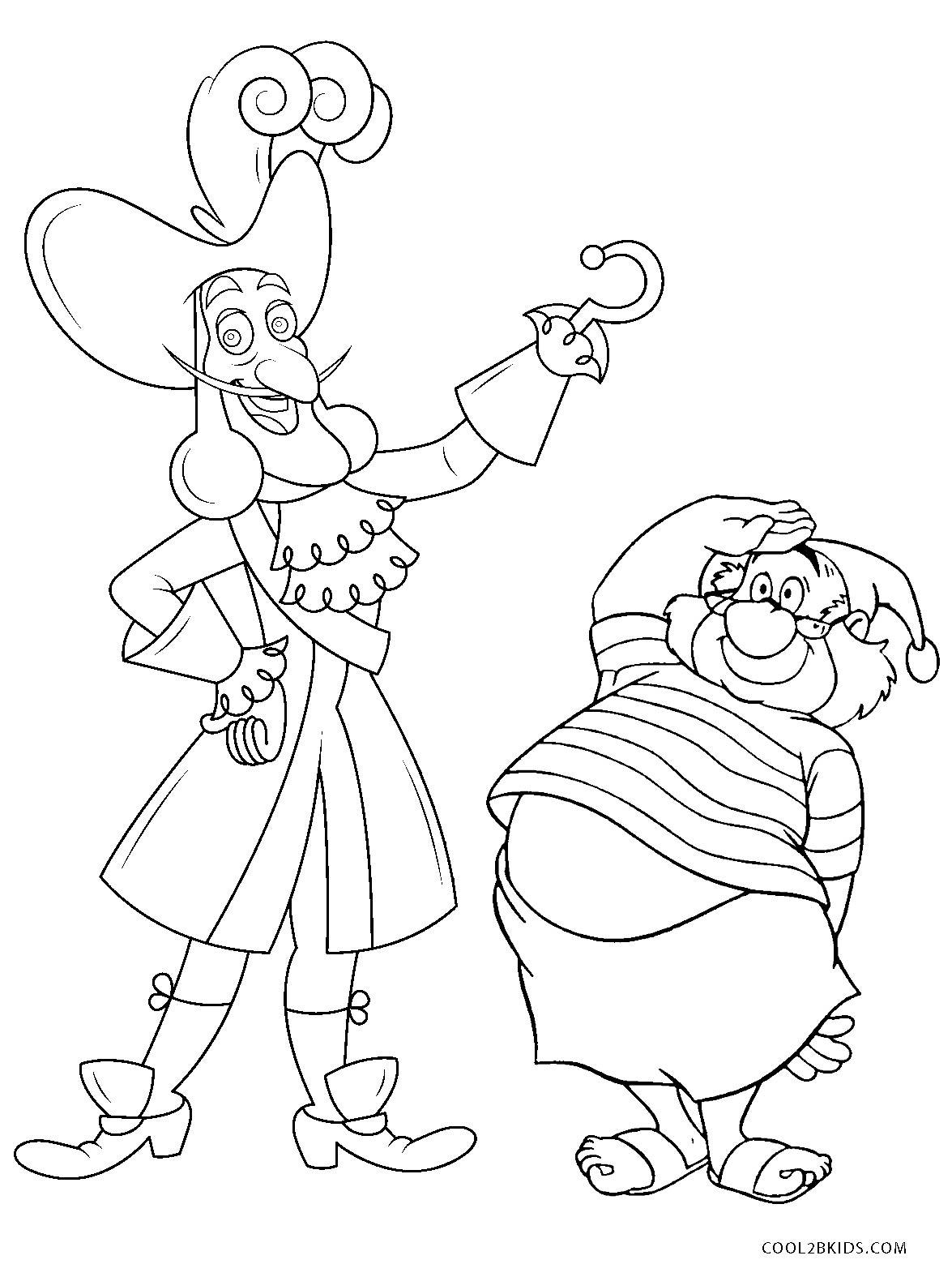 Free Printable Peter Pan Coloring