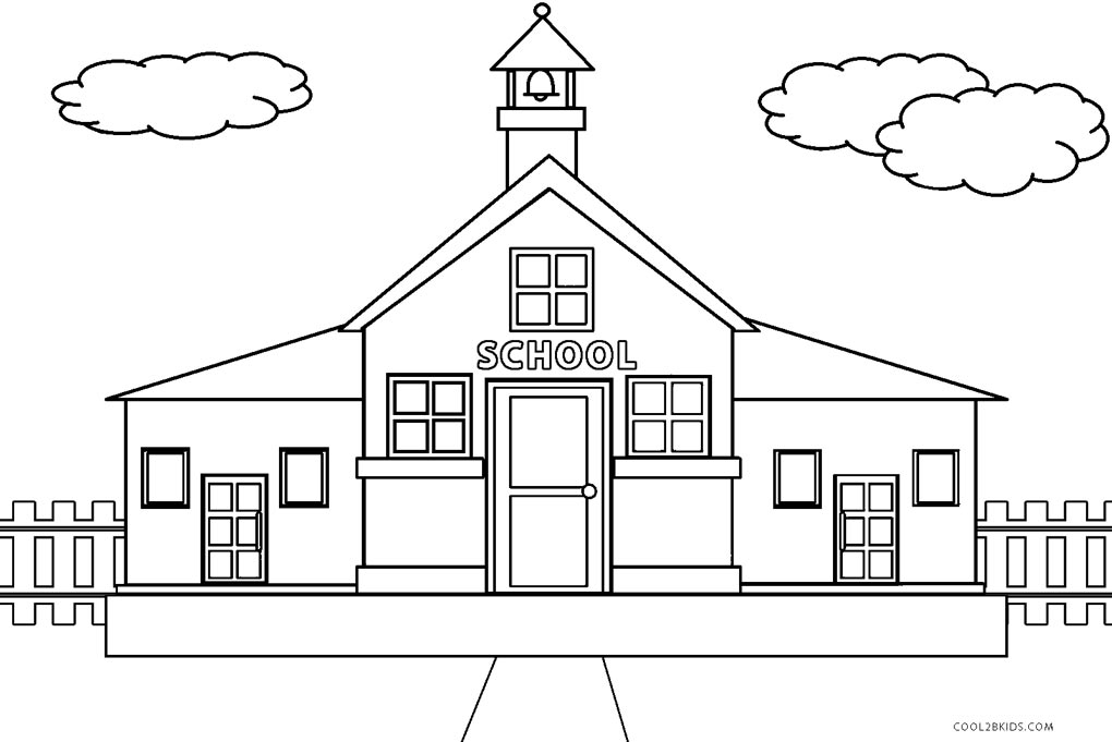Free Printable House Coloring Pages For Kids Cool2bkids