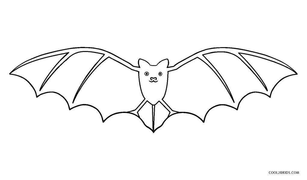 Free Printable Bat Coloring Pages For Kids Cool2bkids