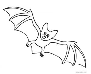 spooky bat coloring pages | Free Printable Bat Coloring Pages For Kids | Cool2bKids