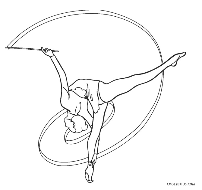 Free Printable Gymnastics Coloring Pages For Kids | Cool2bKids