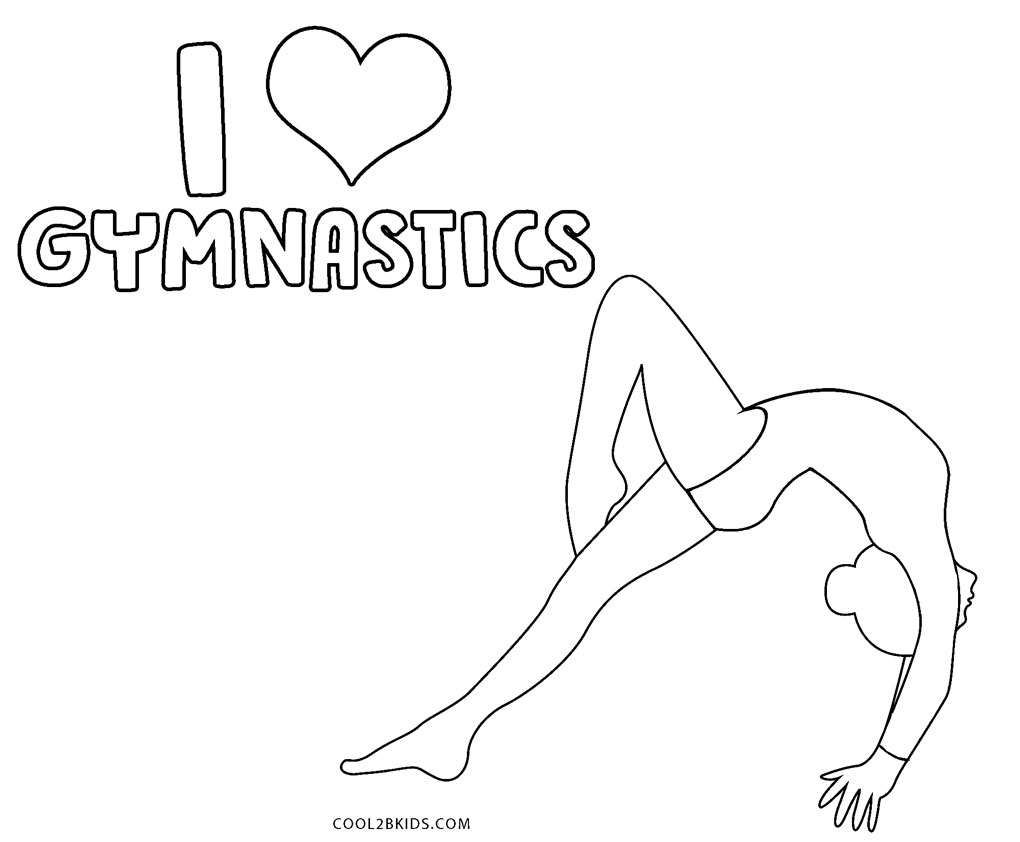 - Free Printable Gymnastics Coloring Pages For Kids
