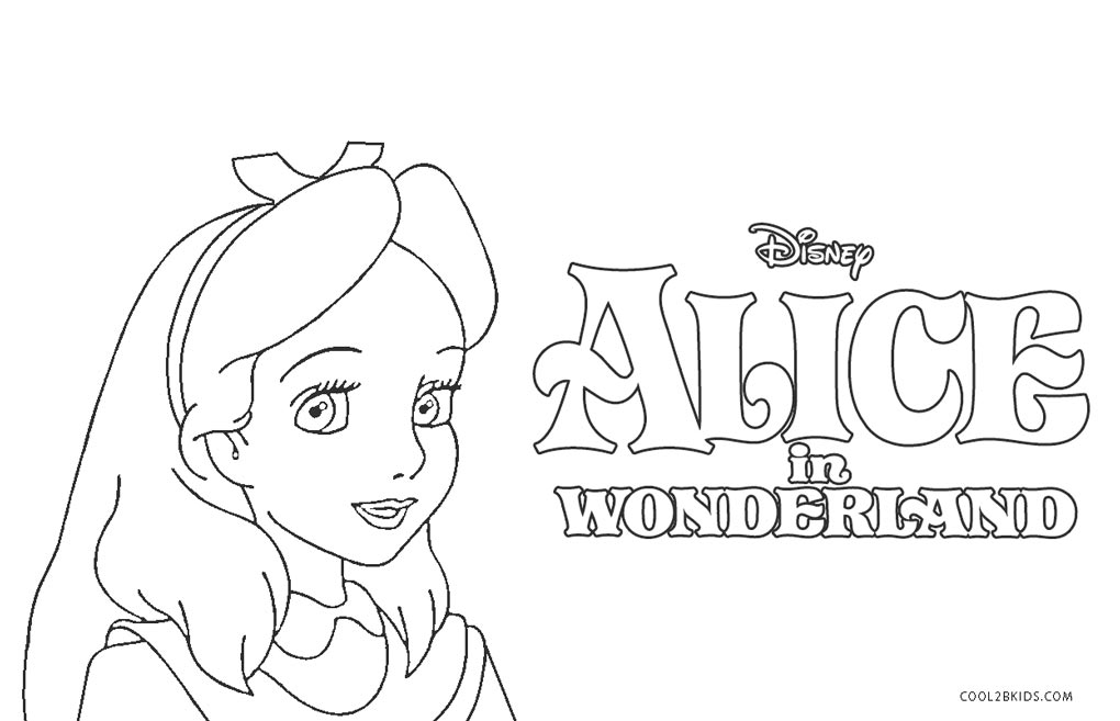 Top 10 Free Printable Alice In Wonderland Coloring Pages Online | 657x1020