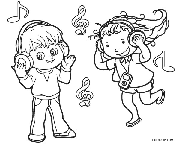 It's just an image of Resource Free Printable Music Coloring Pages