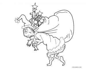 Free Printable Grinch Coloring Pages For Kids