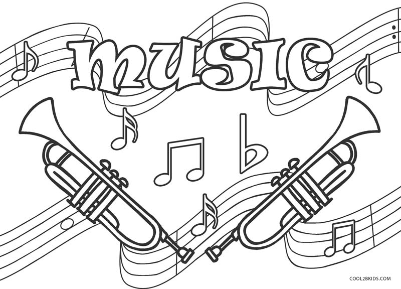 Free Printable Music Coloring Pages For Kids | Cool2bKids