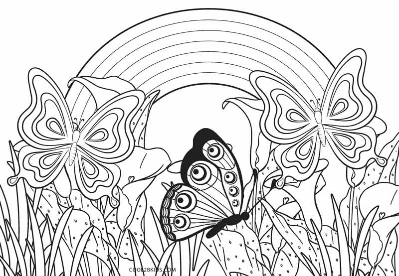 Free Printable Rainbow Coloring Pages For Kids Cool2bkids