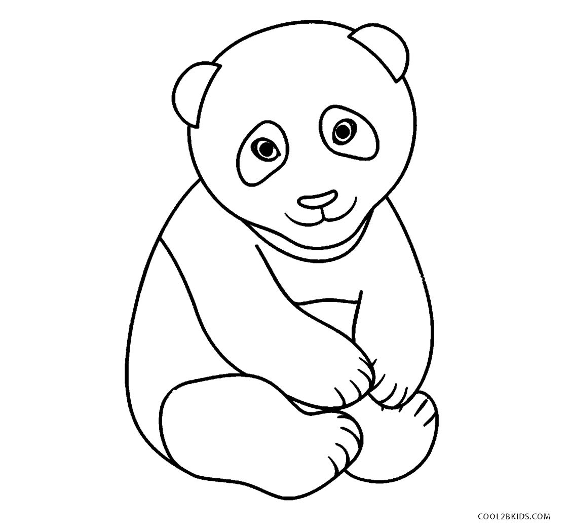 Free printable panda bear coloring pages ~ Free Printable Panda Coloring Pages For Kids | Cool2bKids