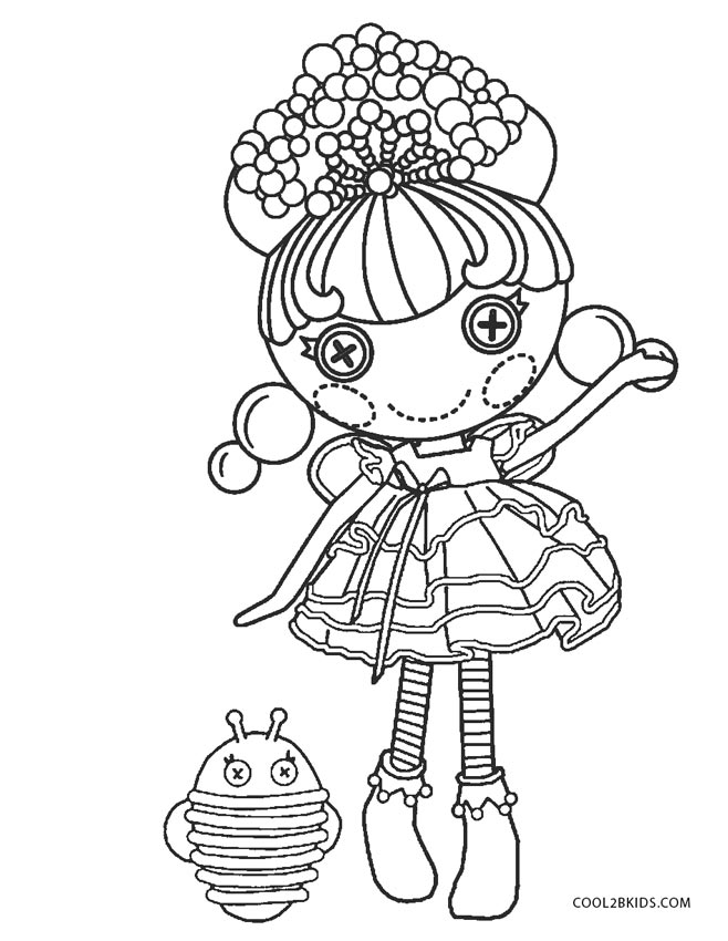 lalaloopsy coloring pages jewel sparkles doll | Free Printable Lalaloopsy Coloring Pages For Kids | Cool2bKids