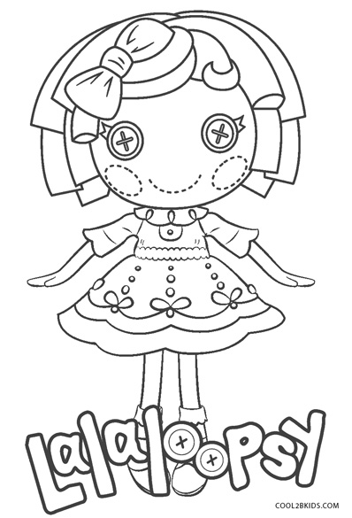 Free Printable Lalaloopsy Coloring Pages For Kids | Cool2bKids