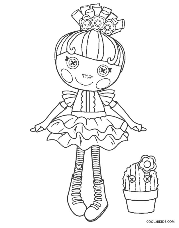 Lalaloopsy Coloring Books | print these Baby Peach coloring pages ... | 800x628