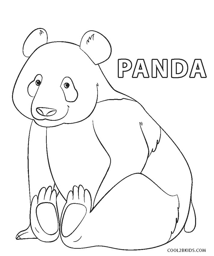 Free Printable Panda Coloring Pages For Kids | Cool2bKids