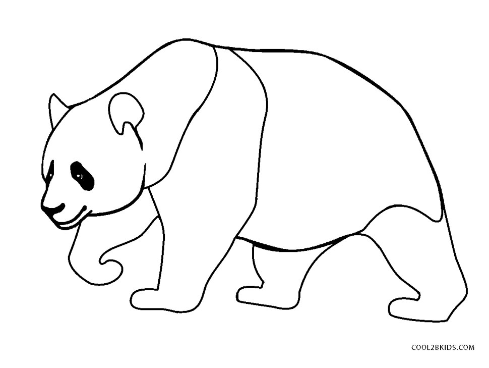Free Printable Panda Coloring Pages For
