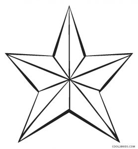 Free Printable Star Coloring Pages For Kids | Cool2bKids