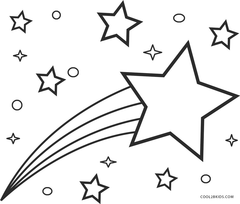 star coloring pages for toddlers - photo#39