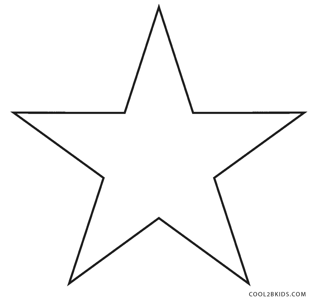 picture about Star Coloring Pages Printable titled No cost Printable Star Coloring Internet pages For Young children Great2bKids