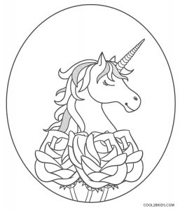 free printout coloring pages | Free Printable Unicorn Coloring Pages For Kids | Cool2bKids