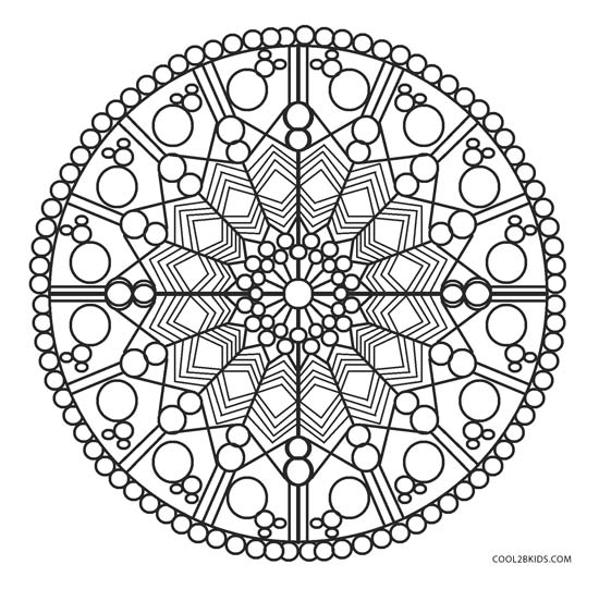 70+ Geometric Coloring Pages To Print And Customize | 541x550