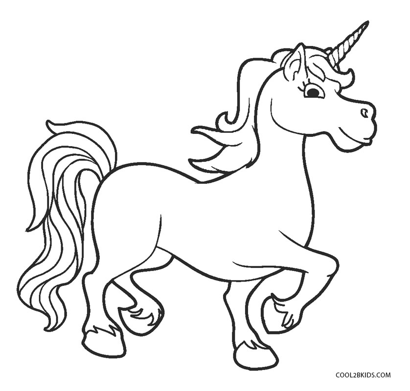 Unicorn Coloring Pages Cool2bkids