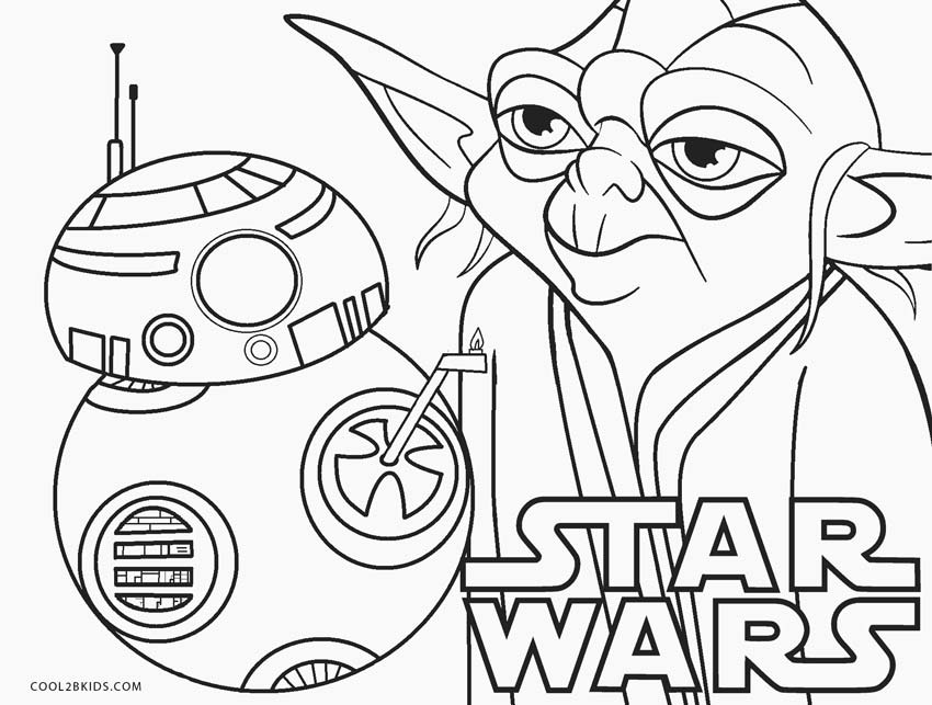 Printable Coloring Cartoon Characters | Star wars coloring sheet ... | 643x850