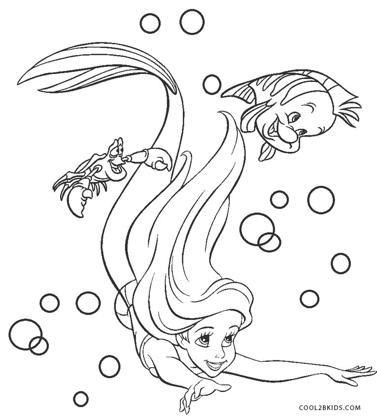 - Ariel Coloring Pages Cool2bKids