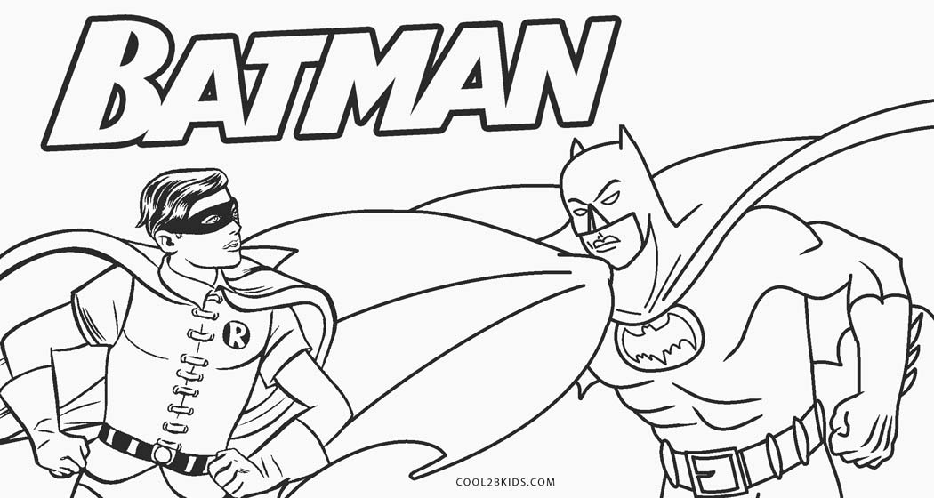 Batman Coloring Pages – 35 Free Printable For Kids   560x1050