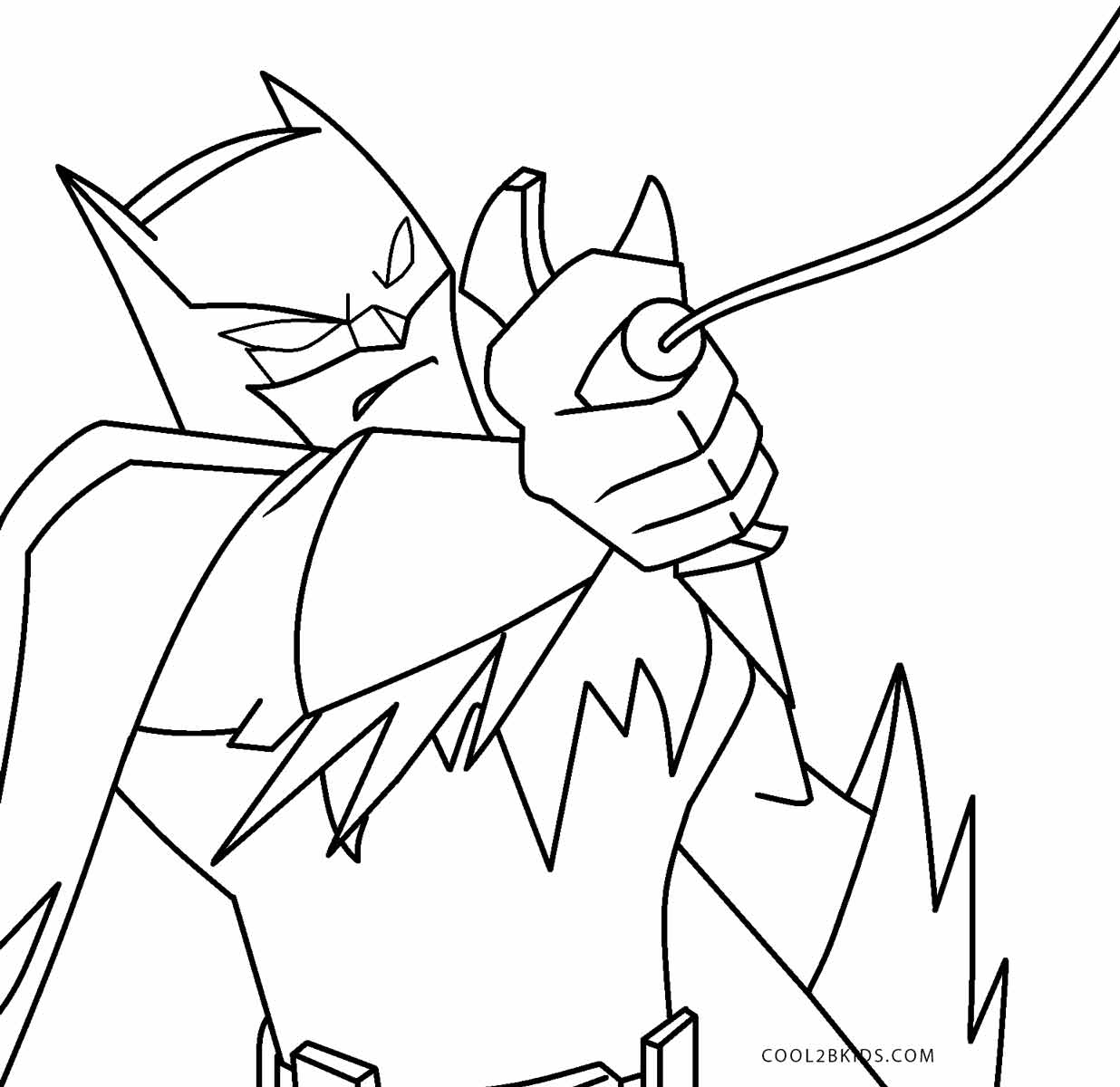 It is a graphic of Fabulous Batman Free Coloring Pages
