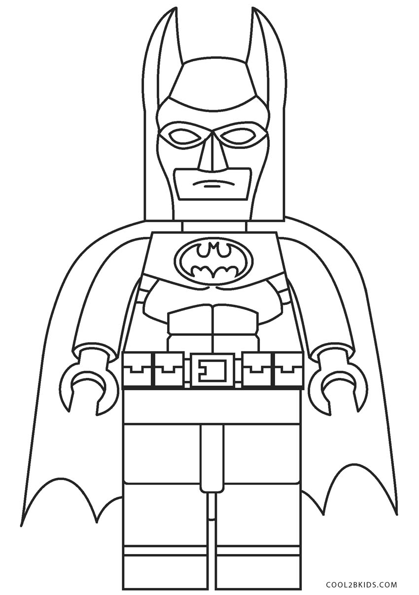 Lego Batman Two Face Coloring Pages Printable | 1206x850