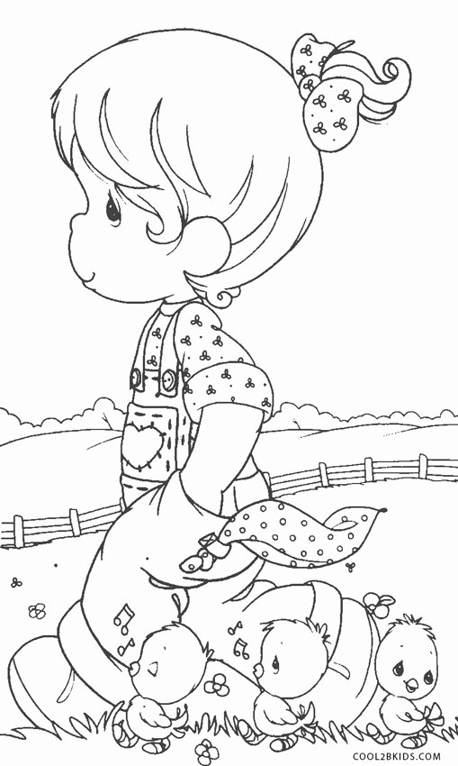 Precious Moments Coloring Pages To Print | Kids Coloring Pages ... | 850x509