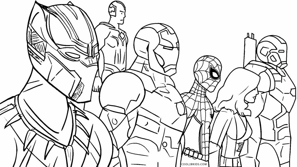 Avengers Coloring Pages | Coloring Pages