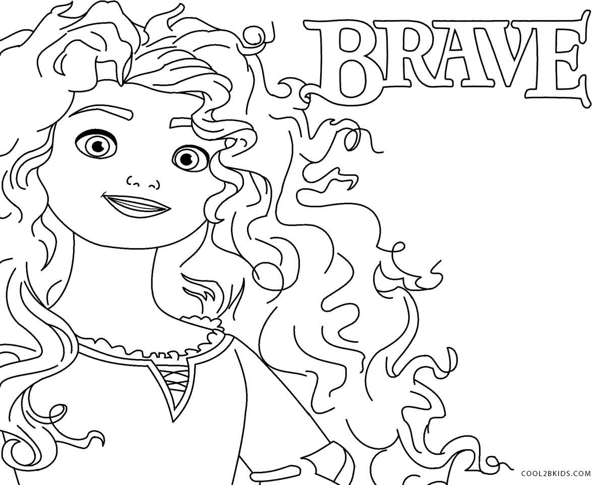 Free Printable Brave Coloring Pages For Kids Cool2bkids