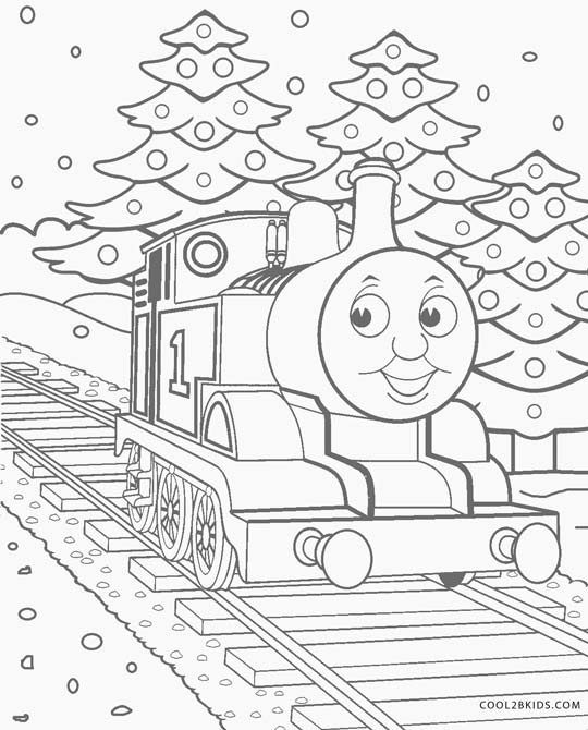 - Thomas The Train Coloring Pages Cool2bKids