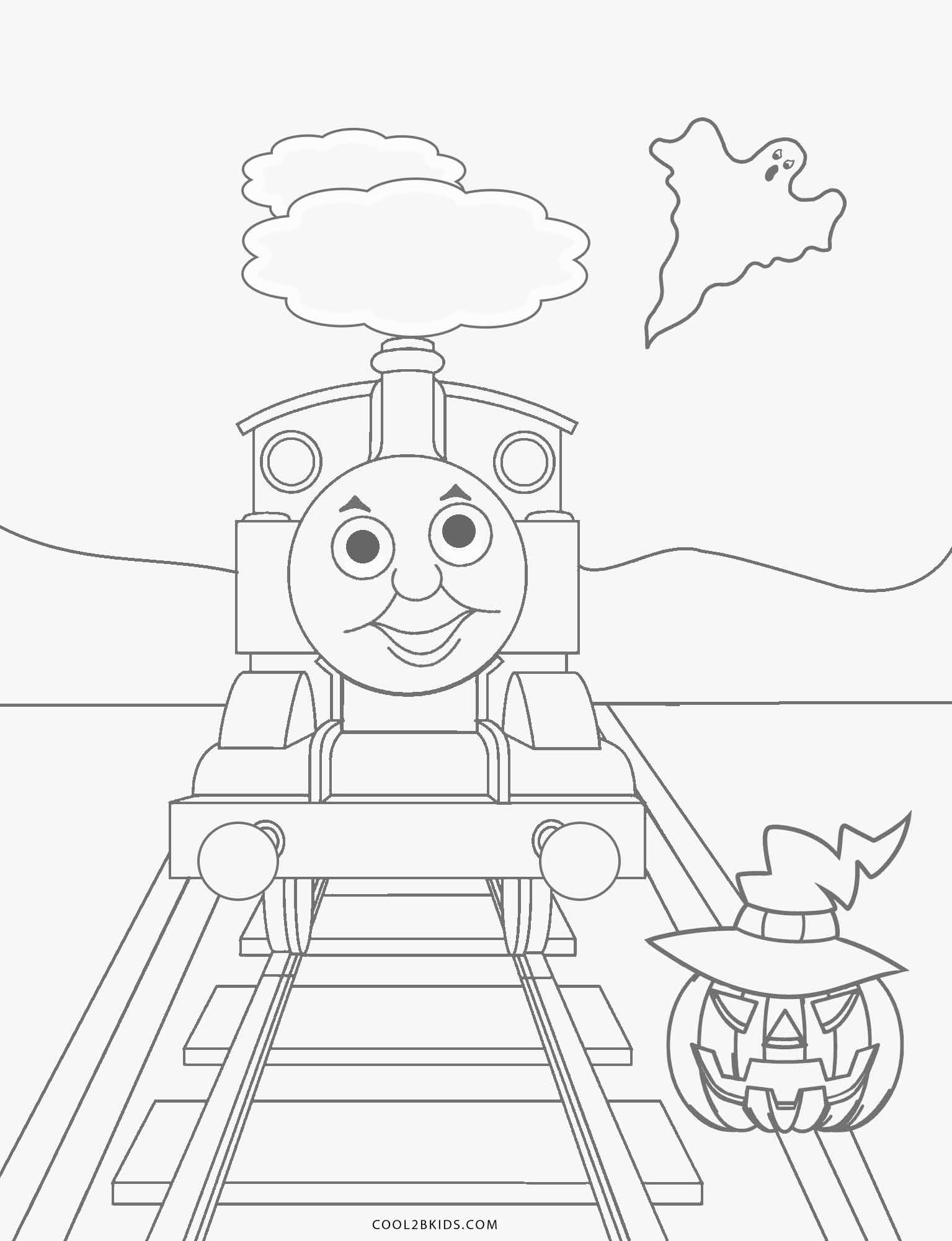 Free Printable Thomas The Train Coloring Pages For Kids Cool2bKids
