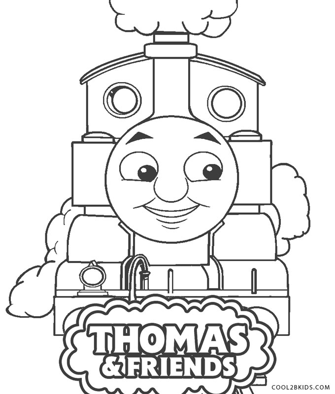 Free Printable Thomas The Train Coloring Pages For Kids ...