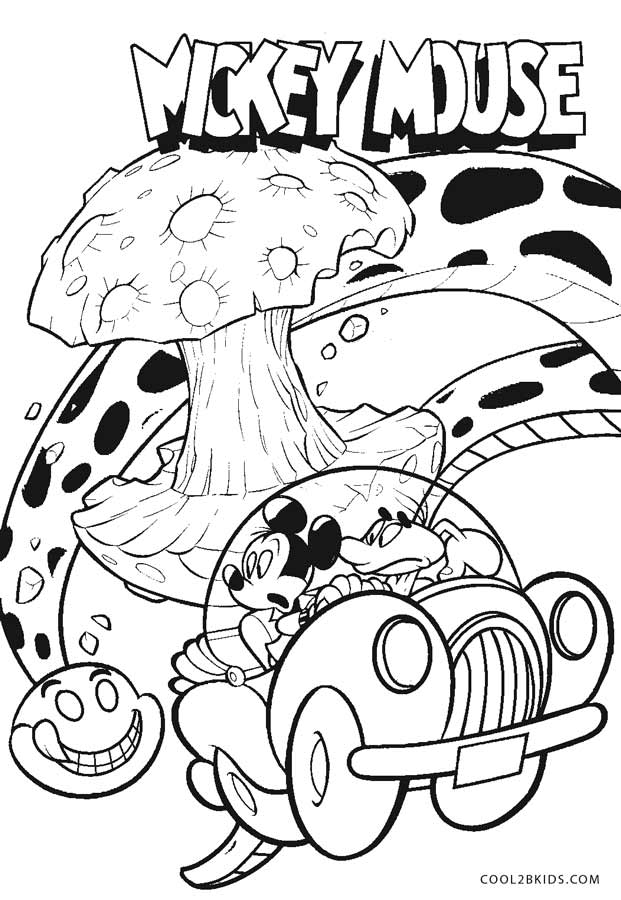 Free Printable Mickey Mouse Coloring Pages For Kids Cool2bkids