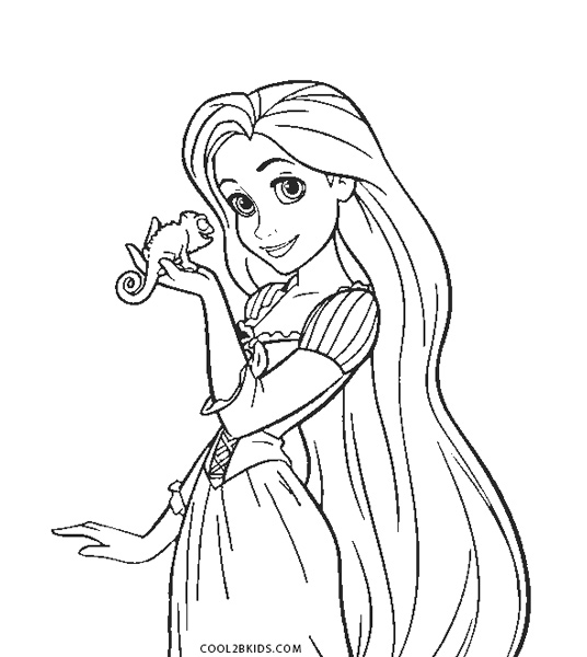 Free Printable Rapunzel Coloring Pages For Kids | Cool2bKids