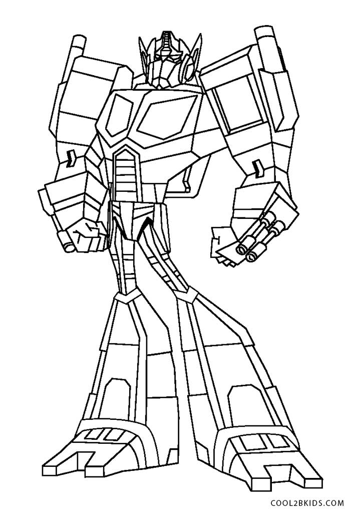 - Free Printable Transformer Coloring Pages For Kids