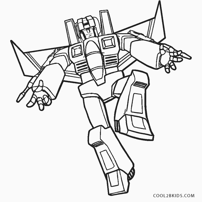 Transformer Coloring Pages