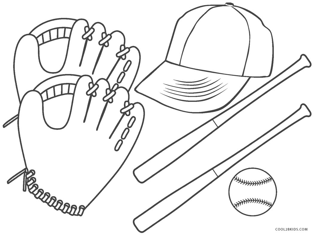 Free Printable Baseball Coloring Pages For Kids Cool2bKids