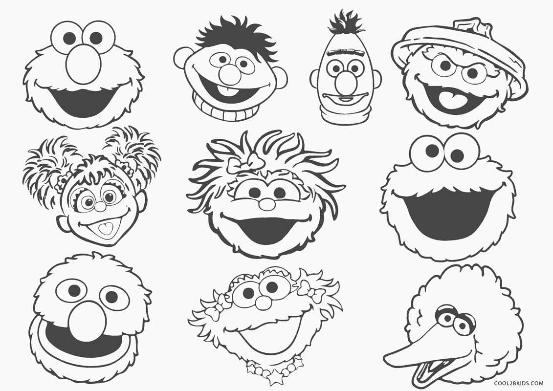 Free Printable Sesame Street Coloring Pages For Kids Cool2bkids