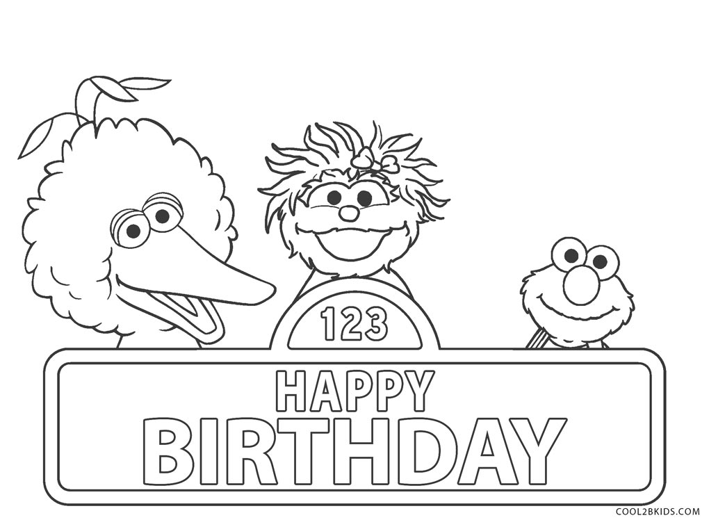- Free Printable Sesame Street Coloring Pages For Kids