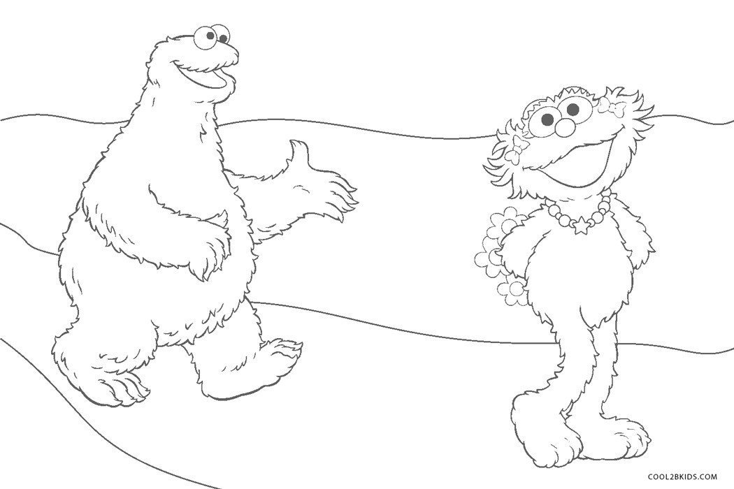 Free Printable Sesame Street Coloring Pages For Kids   700x1050